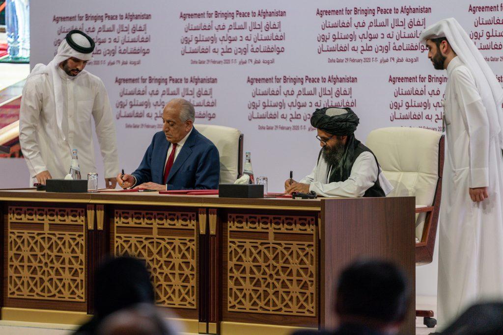 Afghan peace deal