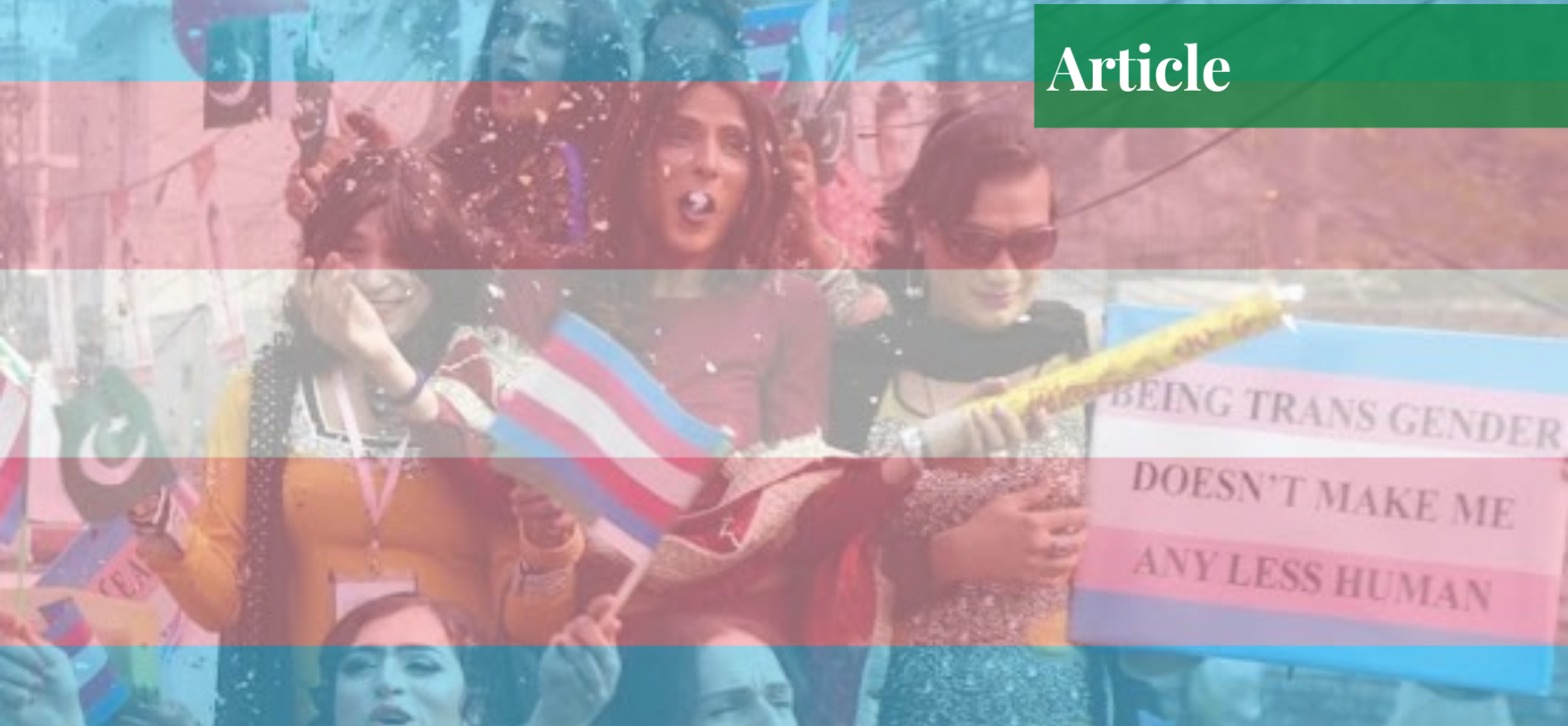 transgenders in Pakistan