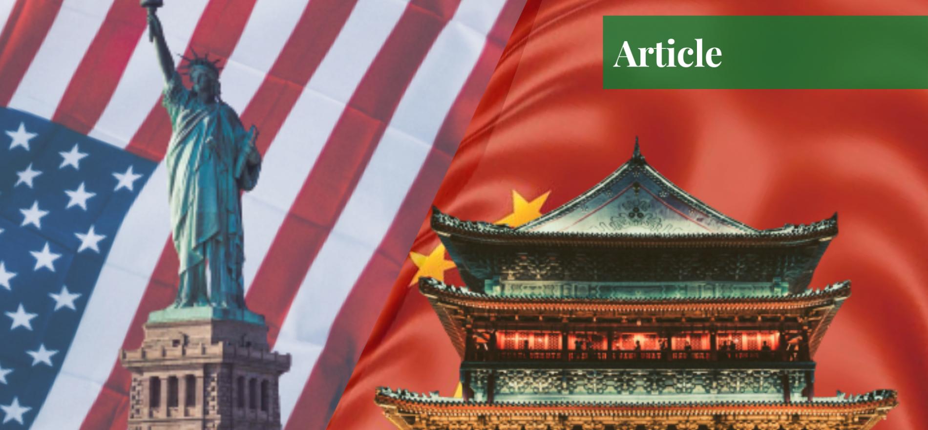 war between china and the us