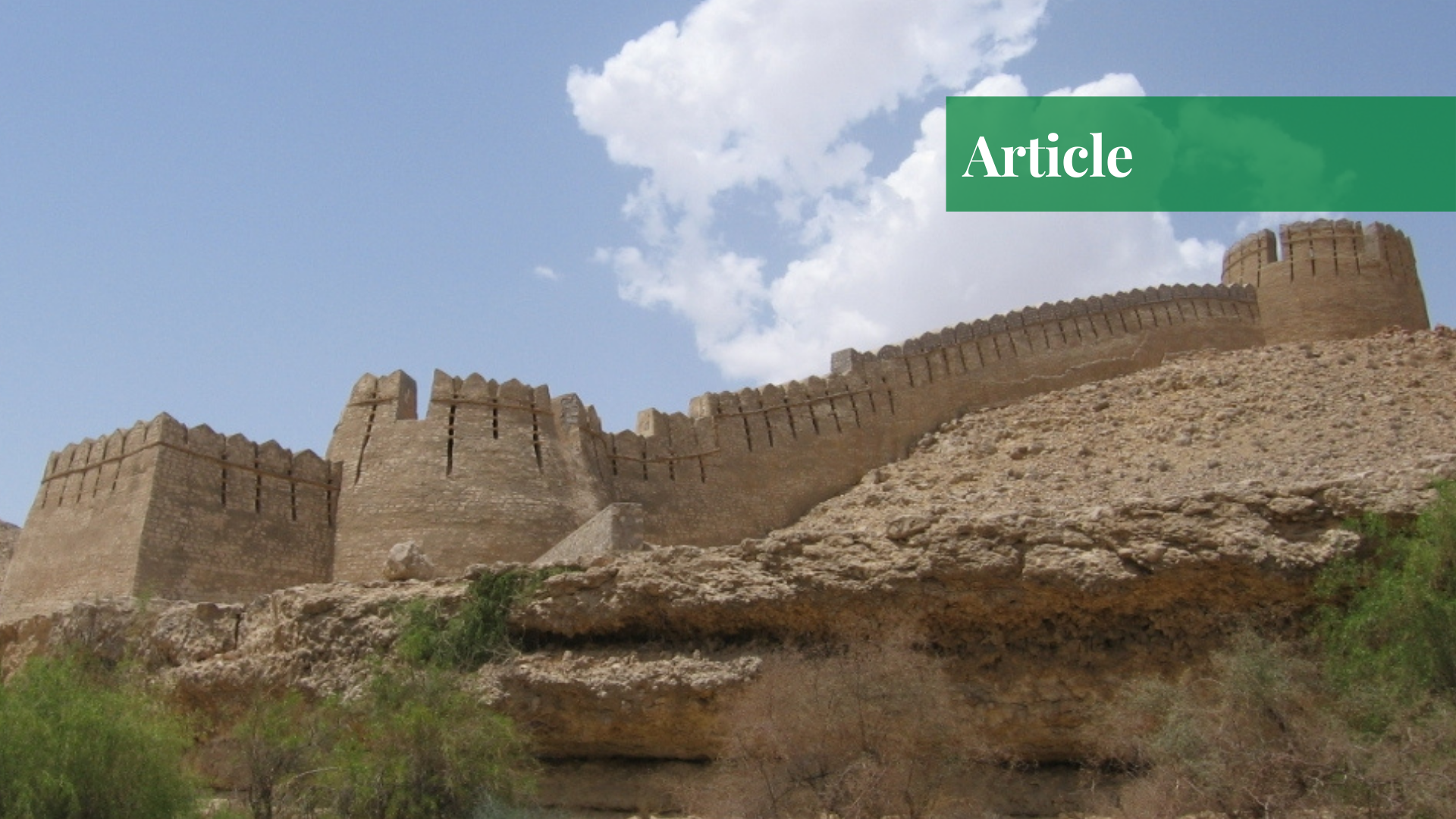 Ranikot Fort in Pakistan: The World's Largest Fort