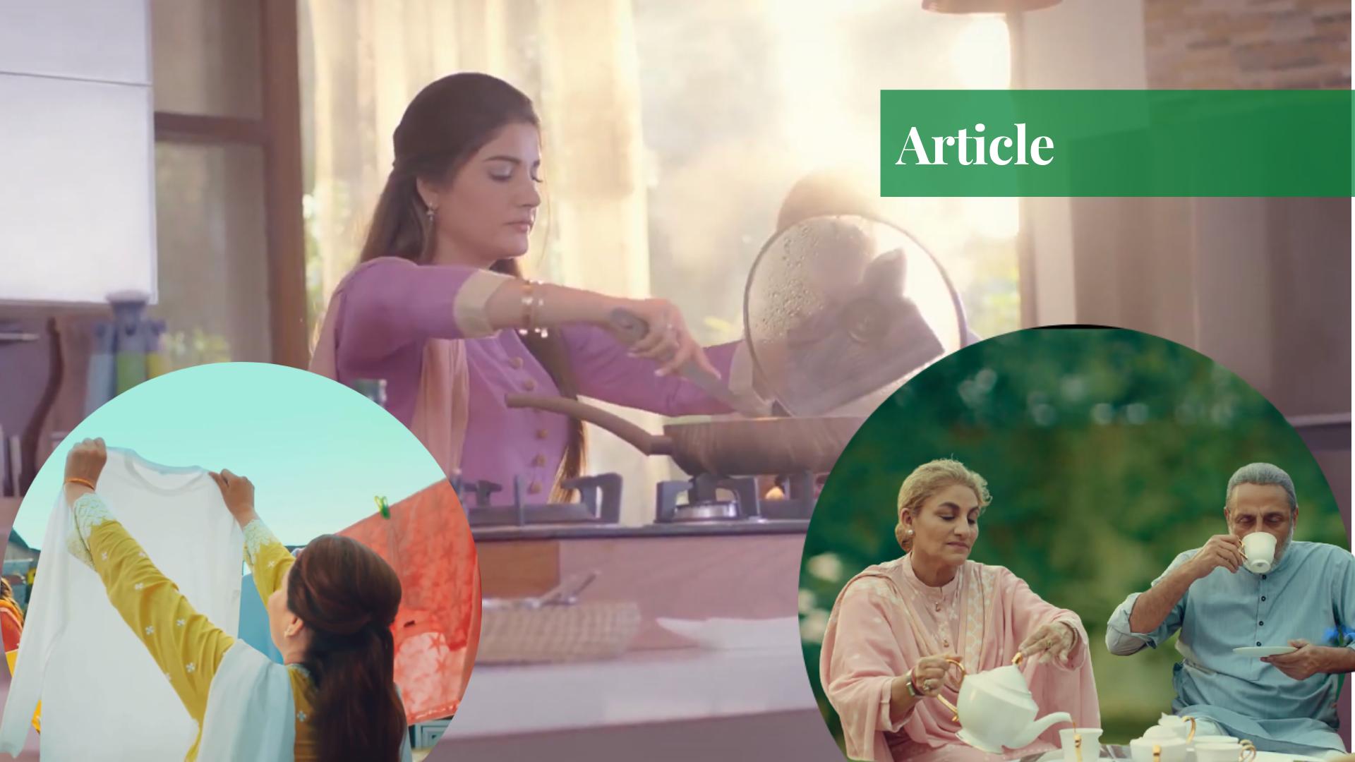How TV Adverts Reinforce Gender Roles in Pakistan