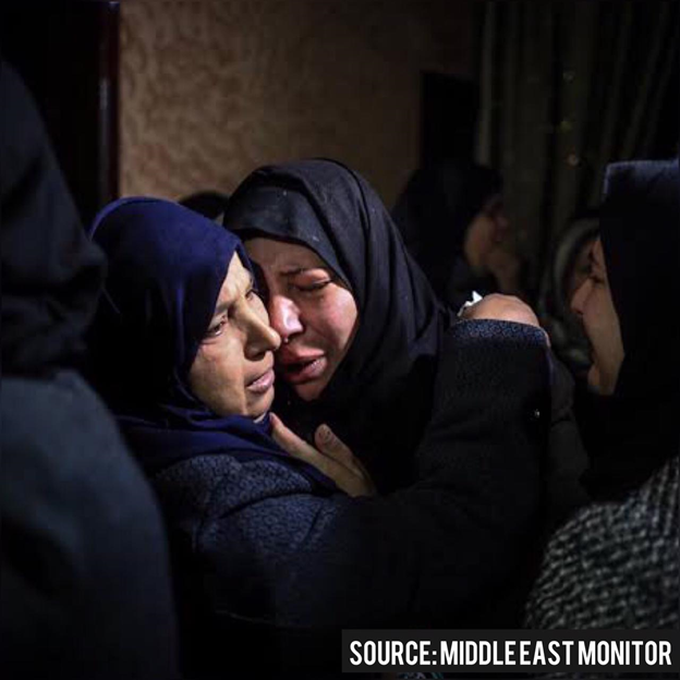 israeli attacks on palestinians